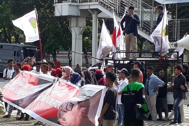 GPI Gelar Aksi Minta KPK Segera Tangkap Hasto Kristiyanto