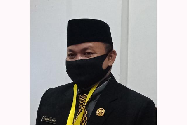 Ketua DPRD Kapuas Meminta Pekerjaan di APBD Perubahan Tepat Waktu